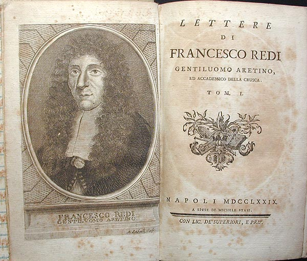 francesco redi biography