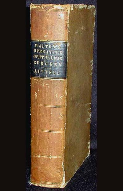 A Treatise on Operative Ophthalmic Surgery. H. Haynes Walton.