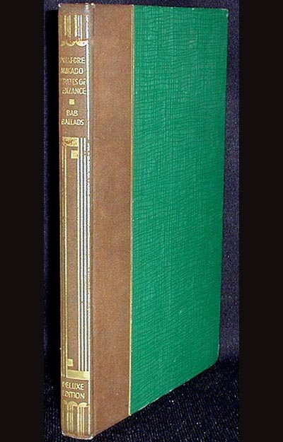 Book and Lyrics of the Best-Known Gilbert & Sullivan Operas and the Bab Ballads. W. S. Gilbert.