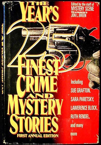 The Year's 25 Finest Crime and Mystery Stores. Sue Grafton.