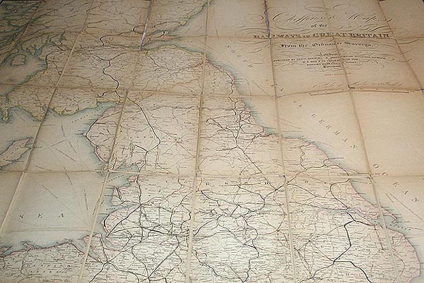 Cheffins's Map of the Railways in Great Britain: From the Ordnance Surveys. Charles F. Cheffins.