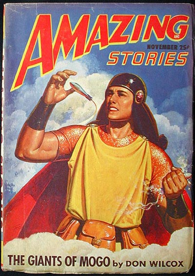 Amazing Stories November 1947 Volume 21 Number 7. Don Wilcox, Craig Browning, Rog Phillips, Lee Francis.