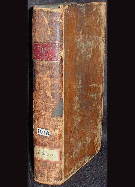 An Abridgment of the Laws of Pennsylvania, Being a Complete Digest of All such Acts of Assembly, as Concern the Commonwealth at Large [vol. 1]. Collinson Read.