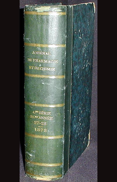 Journal de Pharmacie et de Chimie; 4th ser., vol. 27