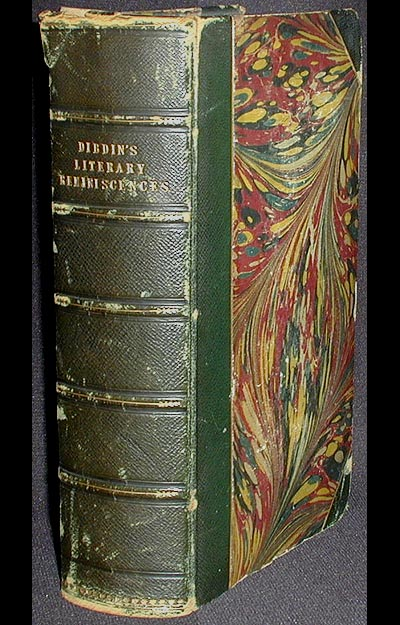 Reminiscences of a Literary Life [provenance: William Horatio Crawford]. Thomas Frognall Dibdin.