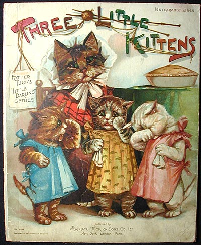 Three Little Kittens. Grace C. Floyd.