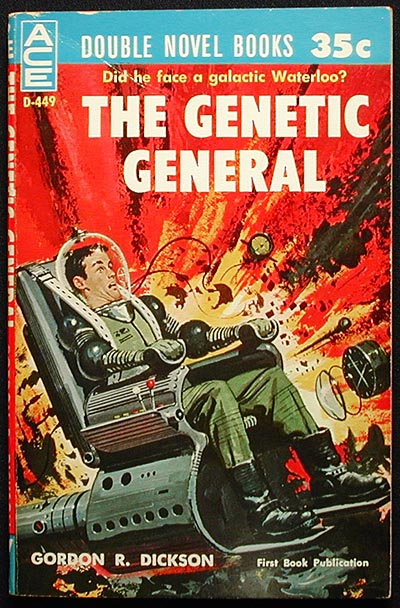 The Genetic General // Time to Teleport. Gordon R. Dickson.