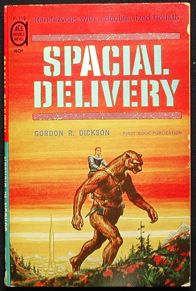 Spacial Delivery // Delusion World. Gordon R. Dickson.