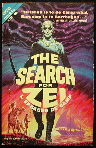 The Search for Zei // The Hand of Zei. L. Sprague De Camp.