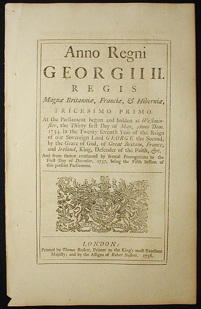 An Act for continuing certain Laws therein mentioned relating to British Sail Cloth, and to the Duties payable on Foreign Sail Cloth; and to the Allowance upon the Exportation of British made Gunpowder;