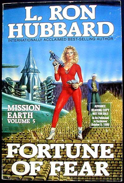 Fortune of Fear [ Advance Reading Copy]. L. Ron Hubbard.