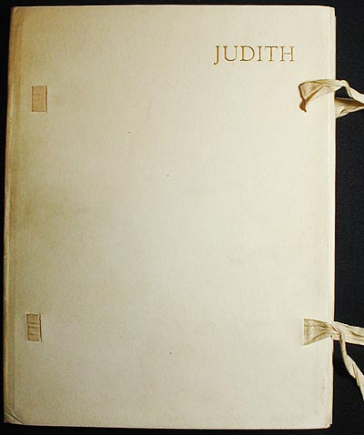 Judith; reprinted from the Revised Version of the Apocrypha with an Introduction by Montague R. James; colour plates after drawings by W. Russell Flint