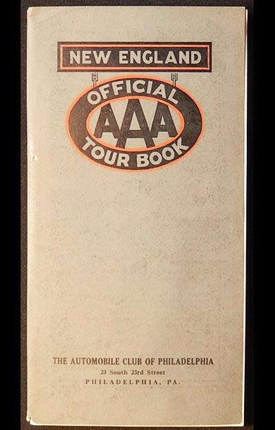 Official AAA Tour Book: New England [with map]