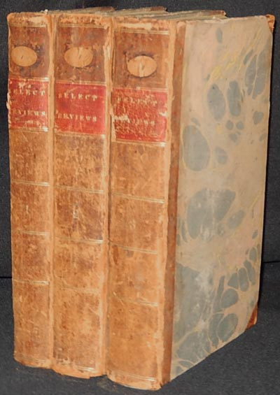 Select Reviews, and Spirit of the Foreign Magazines; by E. Bronson, and Others [3 volumes] [provenance: Sarah Reed]. Enos Bronson.