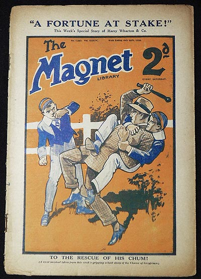 The Magnet Library July 28, 1928 -- no. 1,067 vol. 34. Charles Hamilton, Frank Richards, Dicky Nugent.