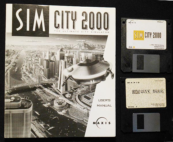 SimCity 2000 the Ultimate City Simulator: User Manual [with 2 discs]. Michael Bremer.