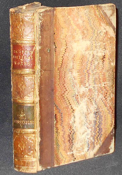 The Poetical Works of Sir Walter Scott, Bar. in Twelve Volumes; with All his introductions and notes, various readings, and the editor's notes [Volume 3--Romantic Ballads]. Walter Scott.