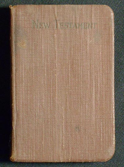 The New Testament of Our Lord and Saviour Jesus Christ; Translated out of the Original Greek; and with the Former Translations Diligently Compared and Revised