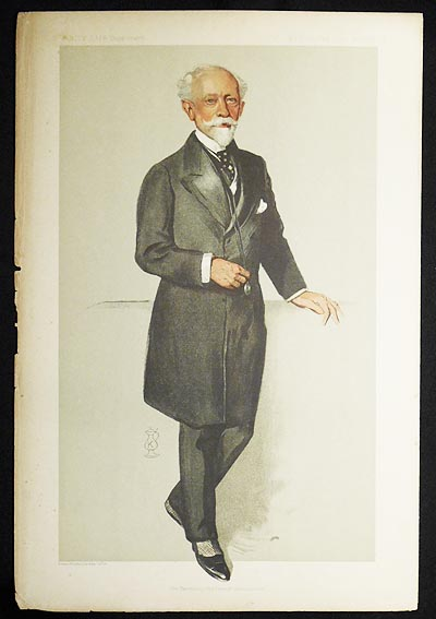 """His Excellency the French Ambassador"": Pierre Paul Cambon (Men of the Day no. 2292) -- Vanity Fair Supplement"