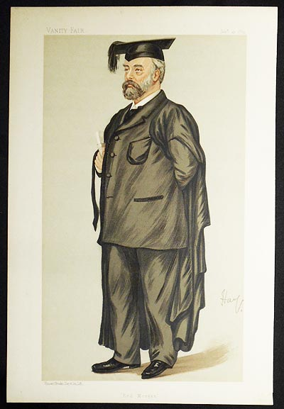 """Red Morgan"": The Rev. Edmund Henry Morgan (Men of the Day, no. 416) -- Vanity Fair, Jan. 19, 1889"