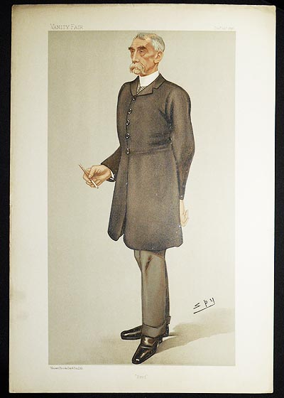 """""""Fred"""": General Frederick Marshall (Men of the Day, no. 666) -- Vanity Fair, Dec. 24, 1896. Leslie Ward."""