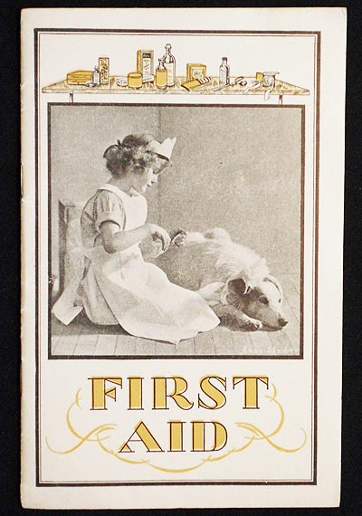 First Aid [Lydia E. Pinkham Vegetable Compound pamphlet]