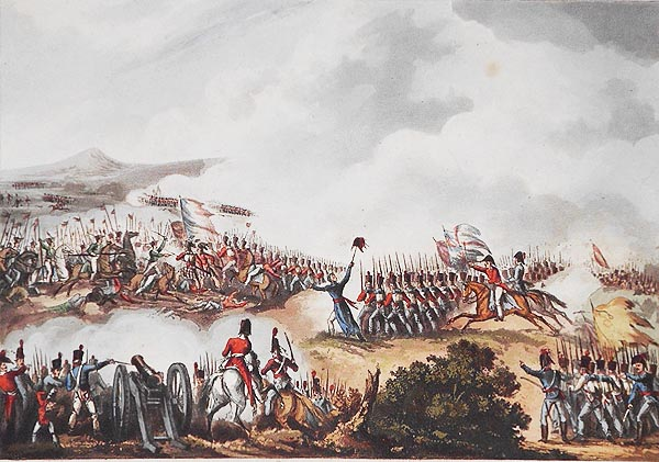 Battle of Albuera, May 16th, 1811; W. Heath delt.; T. Sutherland sculpt. William Heath, Thomas Sutherland.