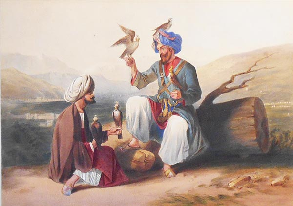Hawkers of Ko-I-Staun: With Valley of Caubul and Mountains of Hindoocoosh. James Rattray.