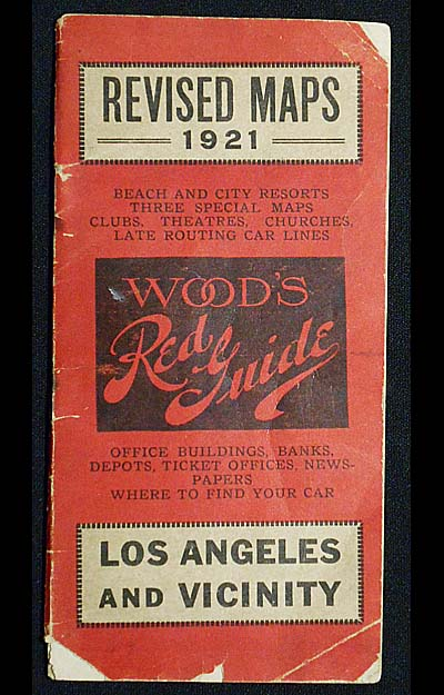 Wood's Red Guide: Los Angeles and Vicinity