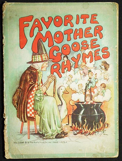 Favorite Mother Goose Rhymes. Eulalie Banks.