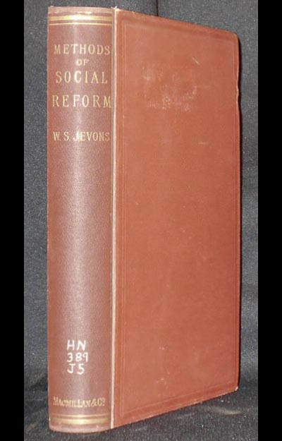 Methods of Social Reform and Other Papers. William Stanley Jevons.