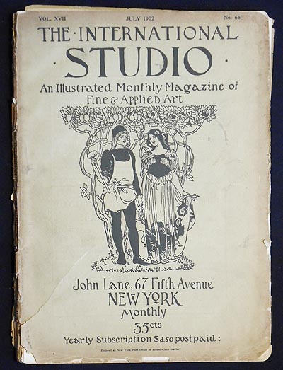 The International Studio: An Illustrated Monthly Magazine of Fine & Applied Art -- vol. 17 no. 65, July 1902 [First International Exhibition of Modern Decorative Art at Turin: Austrian Section]