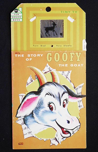 The Story of Goofy the Goat [with Tiny Tv moveable dial]
