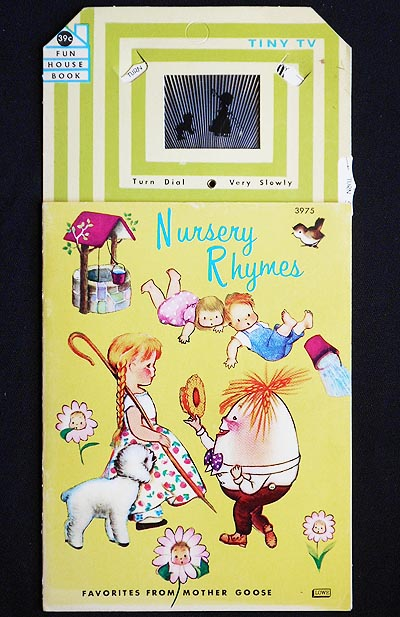 Nursery Rhymes [with Tiny Tv moveable dial]