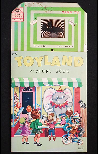 Toyland Picture Book [with Tiny Tv moveable dial]