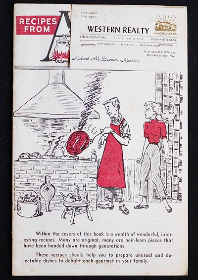 Recipes from Anico [American National Insurance Co.]