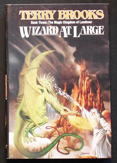 Wizard at Large [The Magic Kingdom of Landover, Book Three]. Terry Brooks.