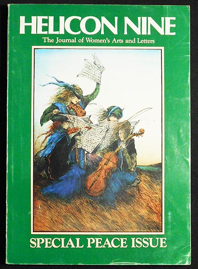 Helicon Nine: The Journal of Women's Arts & Letters: Numbers 12 & 13 Special Peace Issue