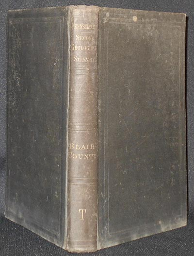 The Geology of Blair County by Franklin Platt. Franklin Platt.
