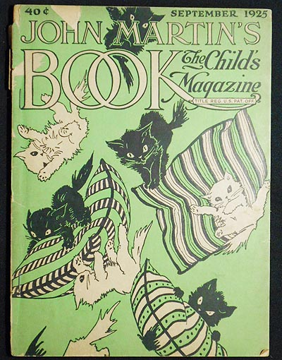 John Martin's Book: The Child's Magazine Sept. 1925, vol. 32, no. 3