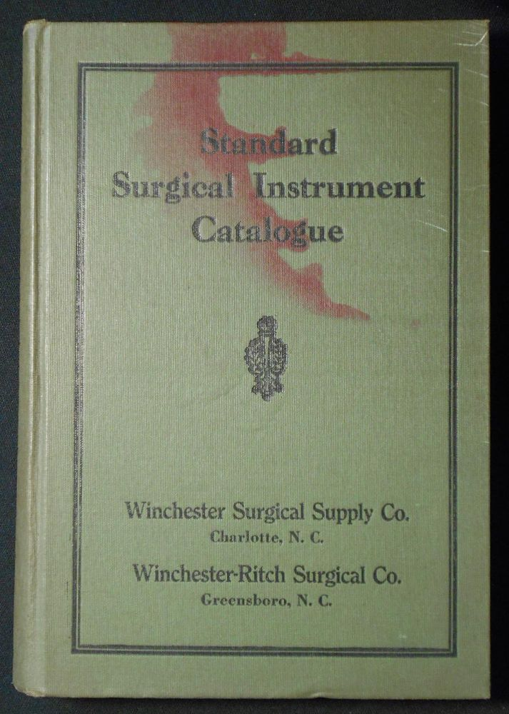 Illustrated Catalogue of Domestic and Imported Standard Surgical Instrument