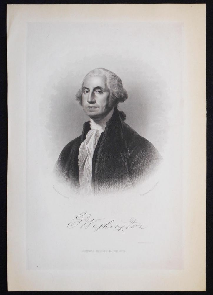 G. Washington; Painted by G. Stuart; Engraved by J. C. Buttre [engraved print]. J. C. Buttre, John Chester.