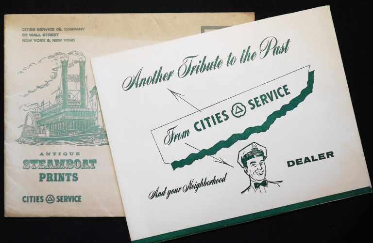 Antique Steamboat Prints: Another Tribute to the Past from Cities Service And your Neighborhood Dealer. Jerome Biederman.