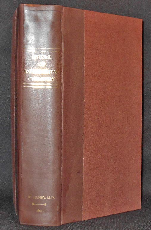 An Epitome of Experimental Chemistry, In Three Parts by William Henry; To which are added, Notes on various subjects; Observations on Metals; Mines; Mining; Metallurgy . . . by B. Silliman. William Henry, Benjamin Silliman.