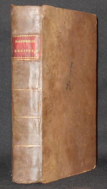 The Historical Register of the United States: Part II for 1814; edited by T. H. Palmer -- vol. 4. T. H. Palmer.