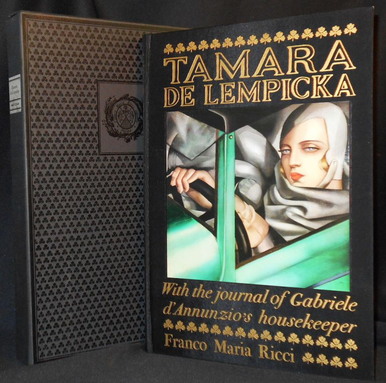 Tamara de Lempicka; Introduction by Giancarlo Marmori; With the Journal of Aélis Mazoyer, Gabriele d'Annunzio's housekeeper, edited by Piero Chiara and Federico Roncoroni. Giancarlo Marmori, Piero Chiara, Aélis Mazoyer, Federico Roncoroni.