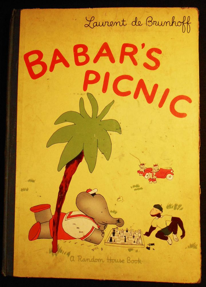 Babar's Picnic; Laurent de Brunhoff; Translated from the French by Merle Haas. Laurent de Brunhoff.