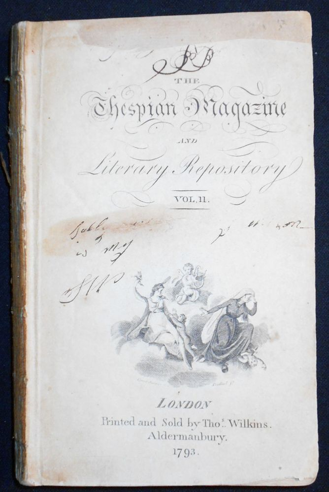 The Thespian Magazine and Literary Repository vol. 2 [June-Dec. 1793]