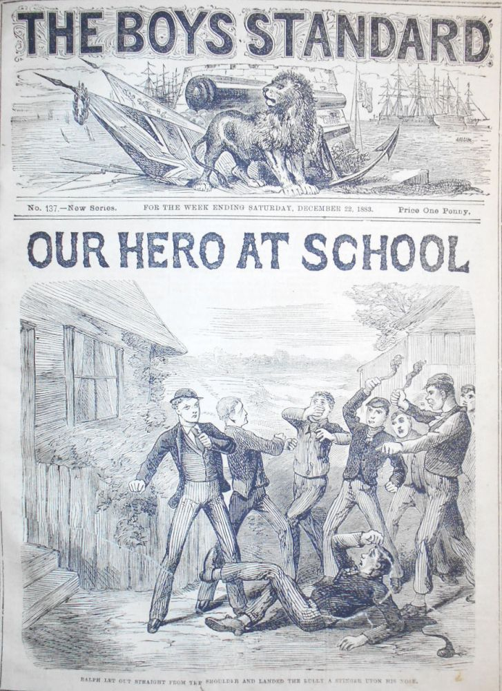 The Boy's Standard -- July 21, 1883-Jan. 19 1884 -- nos. 115-141 New Series (nos. 401-427 Old Series) with the Christmas Number [28 issues]