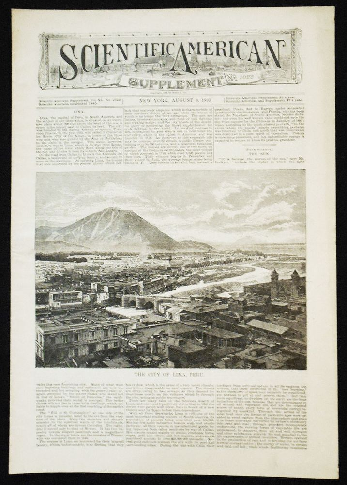 Scientific American Supplement -- No. 1022, Aug. 3, 1895 [the East River Gas Tunnel]